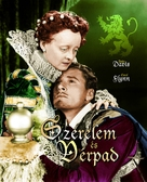 The Private Lives of Elizabeth and Essex - Hungarian Movie Poster (xs thumbnail)