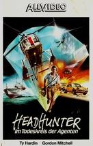 Bersaglio mobile - German VHS cover (xs thumbnail)
