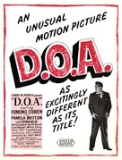 D.O.A. - Movie Poster (xs thumbnail)
