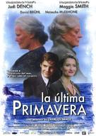 Ladies in Lavender - Spanish Movie Poster (xs thumbnail)