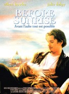 Before Sunrise - French Movie Poster (xs thumbnail)