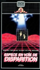 Endangered Species - French VHS movie cover (xs thumbnail)