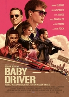 Baby Driver - German Movie Poster (xs thumbnail)