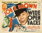 Wide Open Faces - Movie Poster (xs thumbnail)