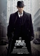 Public Enemies - Swedish Movie Poster (xs thumbnail)