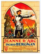 Joan of Arc - French Movie Poster (xs thumbnail)