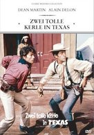 Texas Across the River - German DVD cover (xs thumbnail)