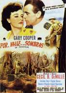 The Story of Dr. Wassell - Spanish Movie Poster (xs thumbnail)