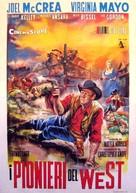 The Tall Stranger - Italian Movie Poster (xs thumbnail)