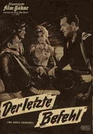 The Horse Soldiers - German Movie Poster (xs thumbnail)