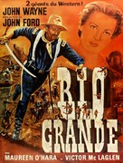Rio Grande - French Movie Poster (xs thumbnail)