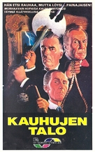 House of the Long Shadows - Finnish VHS movie cover (xs thumbnail)