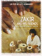 Zakir and His Friends - French poster (xs thumbnail)