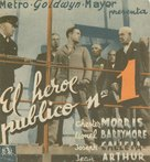 Public Hero #1 - Spanish Movie Poster (xs thumbnail)