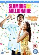 Slumdog Millionaire - British DVD movie cover (xs thumbnail)
