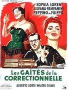 Un giorno in pretura - French Movie Poster (xs thumbnail)