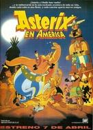 Asterix in Amerika - Spanish Movie Poster (xs thumbnail)