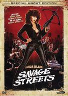 Savage Streets - Danish DVD cover (xs thumbnail)