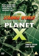 The Strange World of Planet X - British DVD cover (xs thumbnail)
