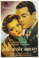 You Only Live Once - Spanish Movie Poster (xs thumbnail)