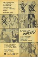 Calendar Girl Murders - poster (xs thumbnail)