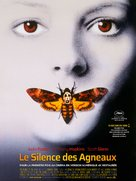The Silence Of The Lambs - French Re-release poster (xs thumbnail)