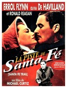 Santa Fe Trail - French Re-release poster (xs thumbnail)