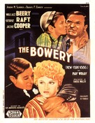 The Bowery - French Movie Poster (xs thumbnail)
