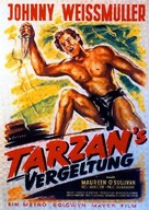 Tarzan and His Mate - German Movie Poster (xs thumbnail)