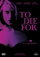 To Die For - German Movie Cover (xs thumbnail)