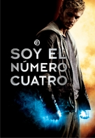 I Am Number Four - Argentinian DVD cover (xs thumbnail)