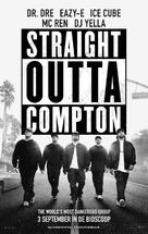 Straight Outta Compton - Dutch Movie Poster (xs thumbnail)