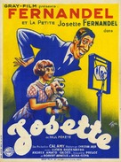 Josette - French Movie Poster (xs thumbnail)