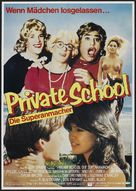 Private School - German Movie Poster (xs thumbnail)