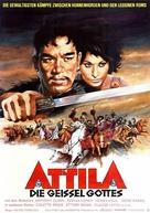 Attila - German Movie Poster (xs thumbnail)
