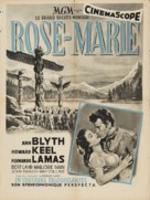 Rose Marie - French Movie Poster (xs thumbnail)