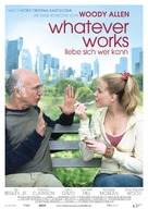 Whatever Works - German Movie Poster (xs thumbnail)