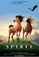 Spirit: Stallion of the Cimarron - Spanish Movie Poster (xs thumbnail)