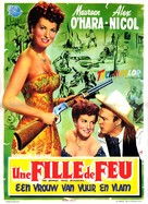 The Redhead from Wyoming - Belgian Movie Poster (xs thumbnail)
