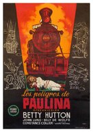 The Perils of Pauline - Spanish Movie Poster (xs thumbnail)
