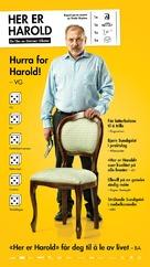 Her er Harold - Norwegian Movie Poster (xs thumbnail)