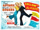 Follow the Fleet - British Movie Poster (xs thumbnail)