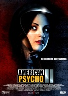 American Psycho II: All American Girl - German Movie Cover (xs thumbnail)