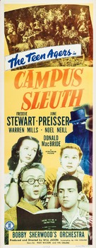 Campus Sleuth - Movie Poster (xs thumbnail)
