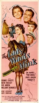 The Lady Wants Mink - Movie Poster (xs thumbnail)