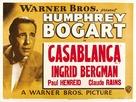 Casablanca - British Movie Poster (xs thumbnail)