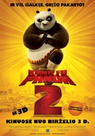 Kung Fu Panda 2 - Lithuanian Movie Poster (xs thumbnail)