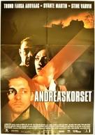 Andreaskorset - Norwegian Movie Poster (xs thumbnail)