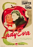 The Lady Eve - Italian Movie Poster (xs thumbnail)
