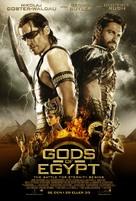 Gods of Egypt - Swedish Movie Poster (xs thumbnail)